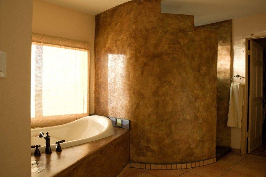Southwest Master Bathroom Euro Fe Kitchen Remodeling And